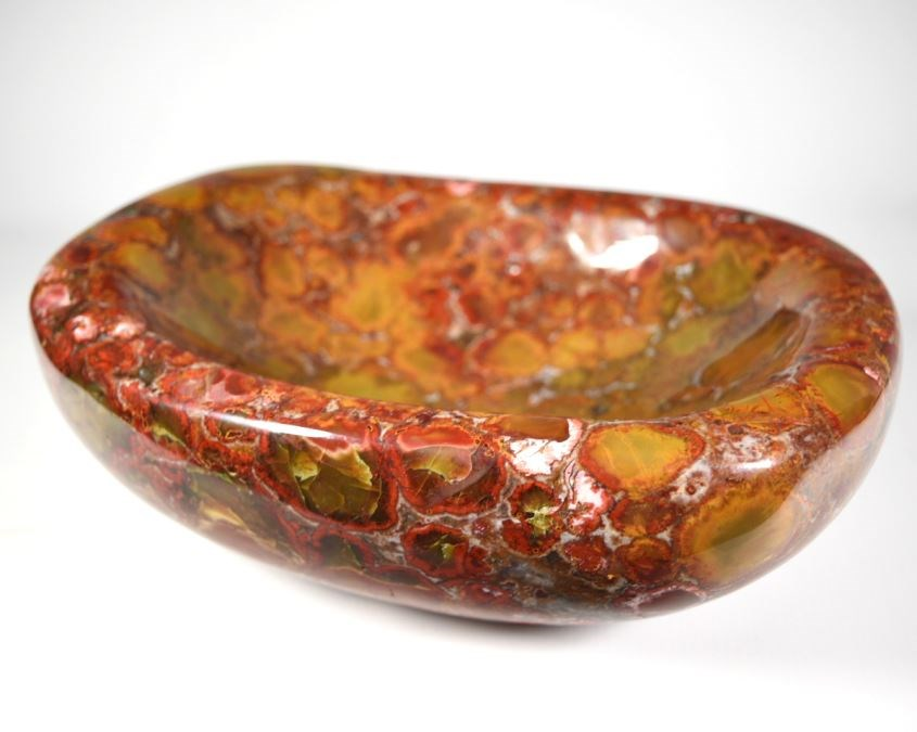 King Cobra Orbicular Jasper Bowl